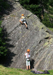 Klettern Passeiertal für Kinder