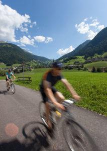 Radfahren am Passerdammweg